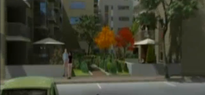 מתוך סרטון הדמיה לפרויקט פלסיטי בבוקרשט, חברת קרדן